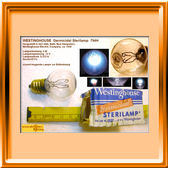 Westinghouse Germicidal Sterilamp 794H
